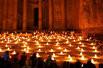 约旦古城壮观烛海