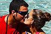 实拍:罗马许愿池情侣激吻(图)