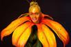 南非开普敦人体彩绘盛会妖娆上演