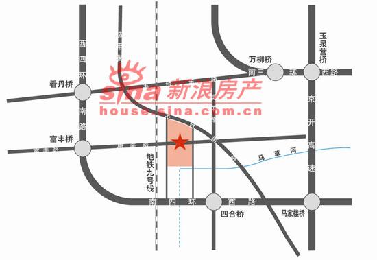 鸿业兴园 交通图