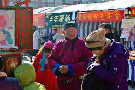 2010北京国际雕塑公园新春文化庙会