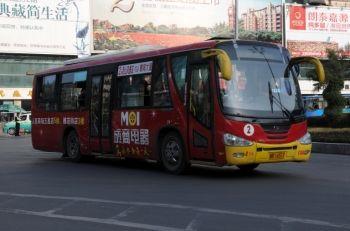 1965年公共汽车-公交车诠释南充发展高清图片