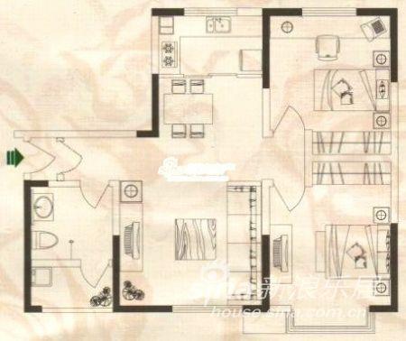 底四层为百货零售业,四层以上为两栋12层内廊式塔楼,为办公和小户型.图片