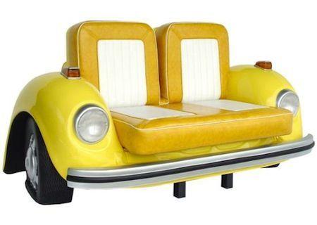 汽车发烧友最爱 甲壳虫纪念版沙发