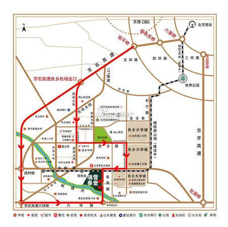瑞雪春堂 (论坛相册户型样板间点评地图搜索)项目位于房山良乡
