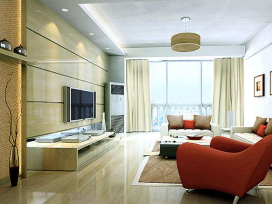 家居设计:10款电视墙装修效果图(4)