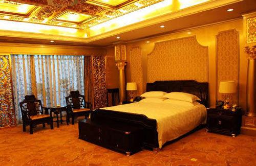 华西村,农民集资30亿元建成了一座现代化五星级酒店――华西龙希国际