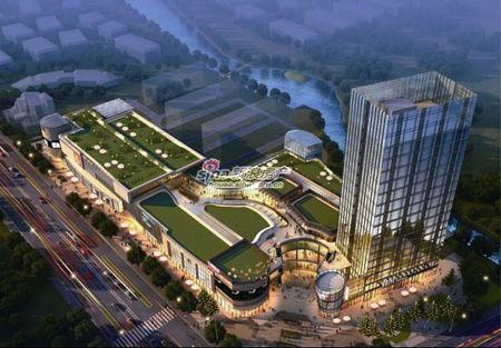 新通州新发展房地产宏伟蓝图之南通纺都城,新瑞广场图片