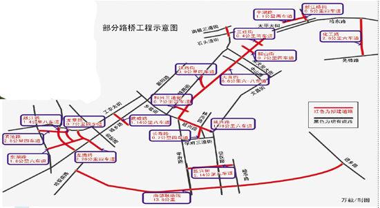 哈尔滨二环地图
