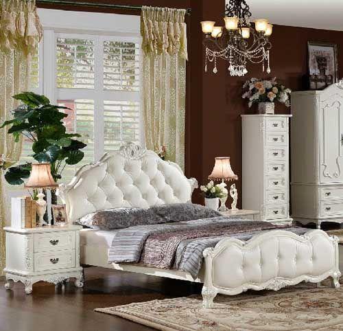 欧式风格双人床家具