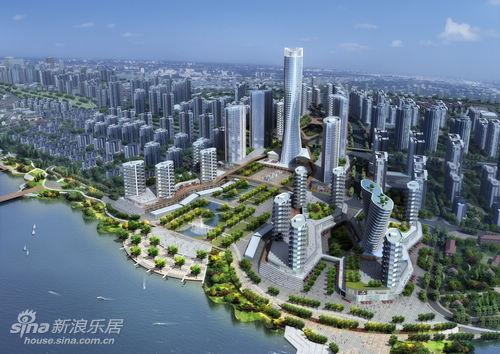 洞庭新城项目位于岳阳老城区
