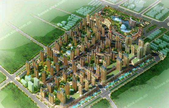 祥云县城区规划图