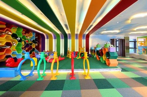 儿童娱乐室实景