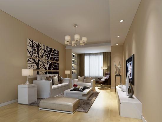 小户型现代客厅装修效果图