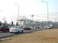 百旺茉莉园 实景图 售楼处和后面已经建好的楼房