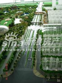 北京华侨城 实景图 规划沙盘7