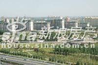 北京华侨城 实景图 工程进度全景
