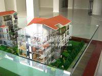 亿城天筑 实景图 楼体模型