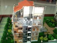 亿城天筑 实景图 楼体模型近景