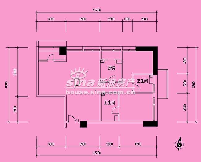 北京香颂 户型展示