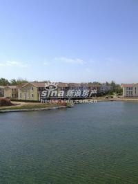 琉璃湖别墅 实景图 湖景