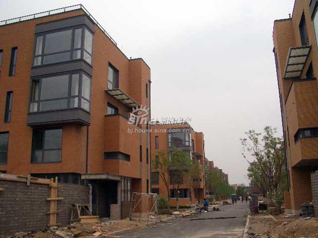中间建筑 实景图 楼体外观
