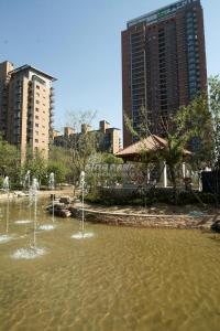 北京华侨城 实景图 水系实景