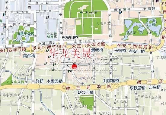 华龙美晟 交通图 地图