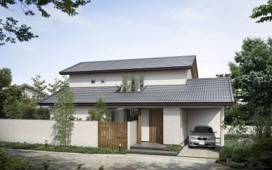 房子盖瓦结构图片