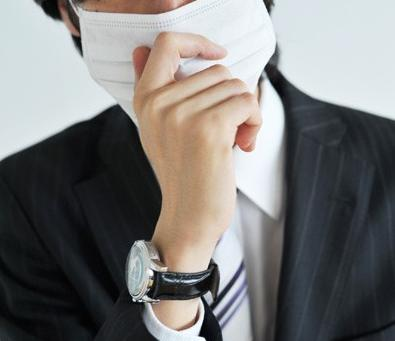 cp头像中分男生戴口罩