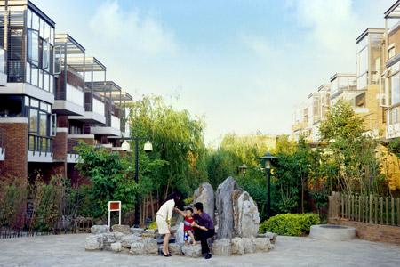 中体奥林匹克花园三期别墅十月即将入住