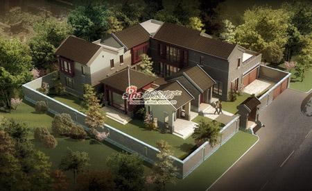 中式院子常熟天地均价13000享98折v院子(图)北京别墅别墅新光图片