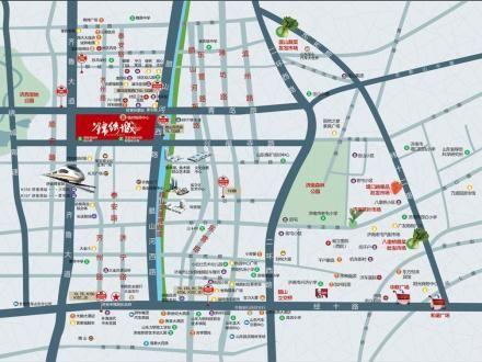 济南西客站规划图