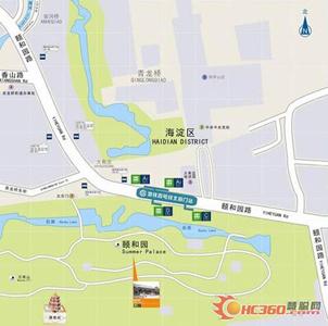 北京地铁4号线之圆明园站
