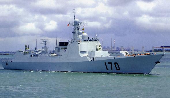 日本强烈要求参观解放军中华神盾驱逐舰(图)