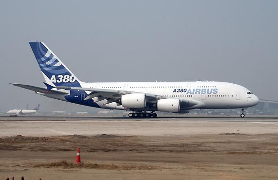 沙特王子成为空客A380飞机首位私人买家(组图)