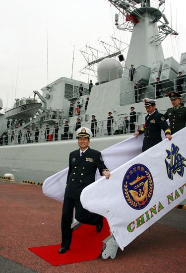 中国访日深圳号军舰对公众开放受关注(图)