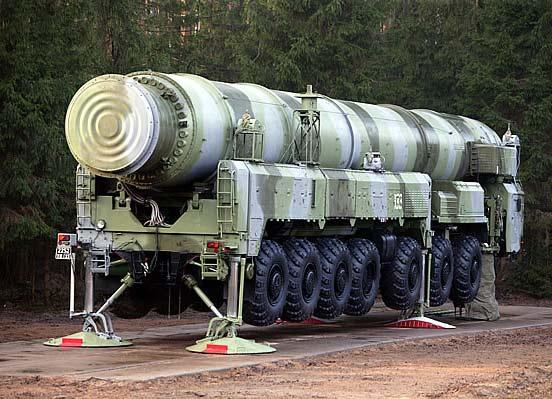 俄罗斯战略火箭兵08年拟发射11枚洲际导弹(图)