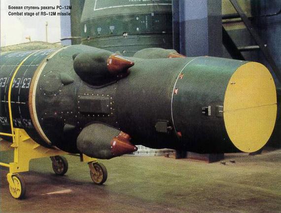 俄09年开始每年部署12枚左右白杨-M洲际导弹