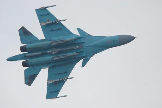 俄开始用流水线方式组装新型苏-34战斗轰炸机