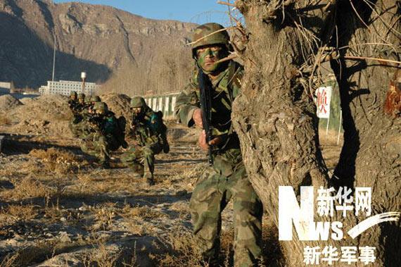 中国藏族特种军官训出战力强悍高原雪豹部队