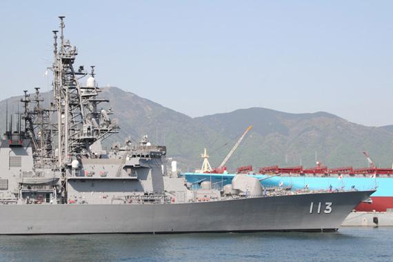日本军舰访华团共约240人军舰将向市民开放