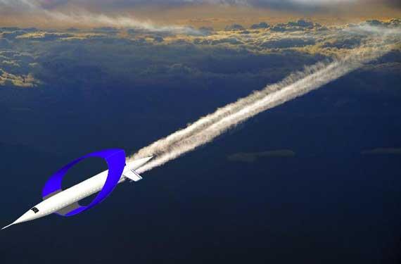 """""""和谐号""""环形翼超声速旅客机"""