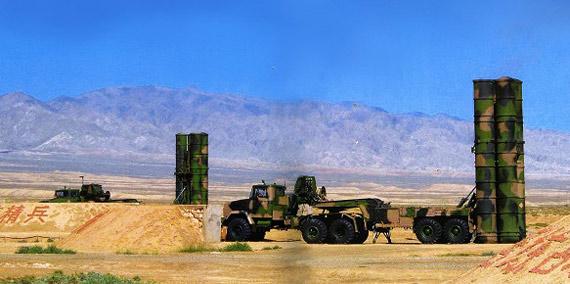 解放军S-300PMU1防空导弹阵地