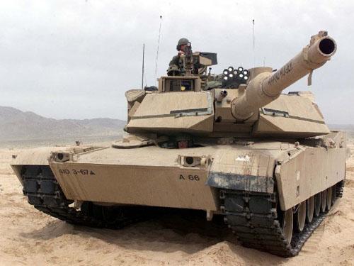 美国M1艾布拉姆斯系列主战坦克