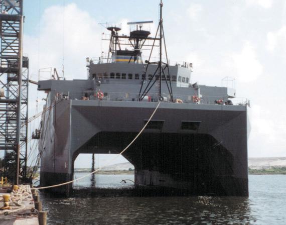 资料图:美国海军无暇号测量船
