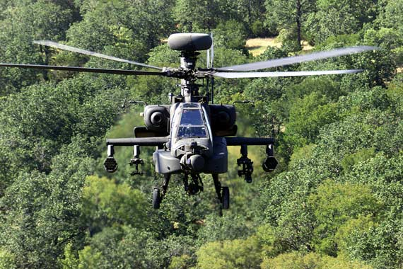 AH-64D Longbow - Apache by the U.S. Boeing company to develop and produce