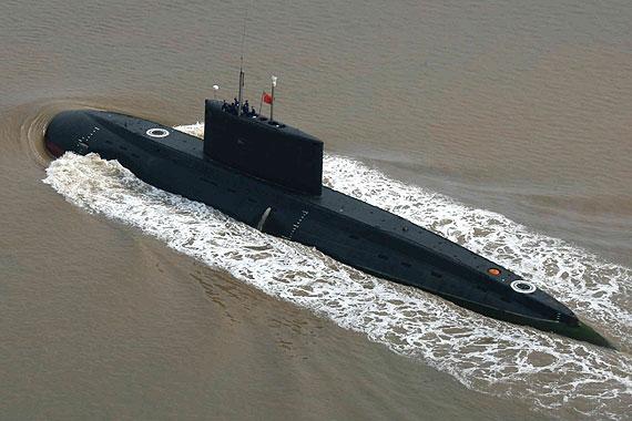 中国636型K级常规潜艇