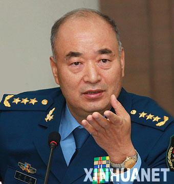 空军司令称:中国空军将发展空天一体作战能力