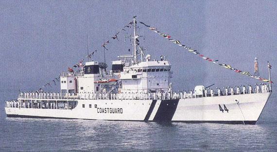 印度海岸警卫队扩军两倍规模将位居世界第三!!